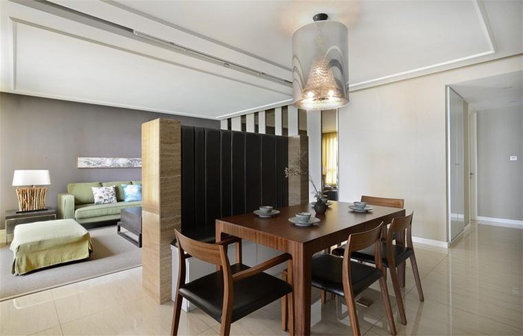 现代风格三居室装修餐厅效果图