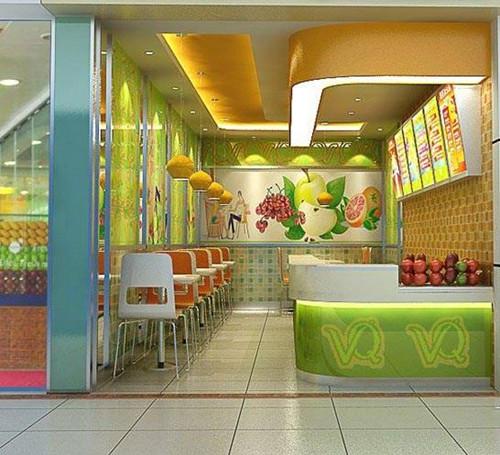 冷饮店装修设计原则 这样装修才能吸引消费者