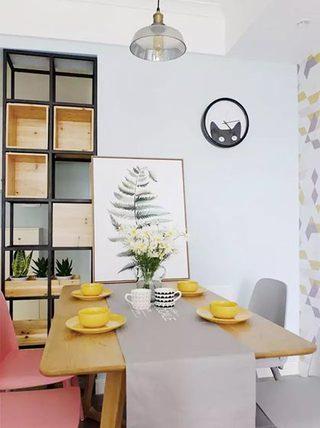 餐桌上的桌布  10款休闲餐厅装修设计图10/10
