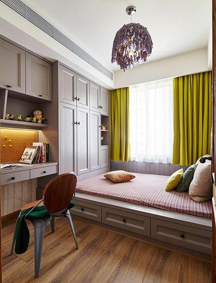 6平方现代榻榻米房间装修装饰效果图
