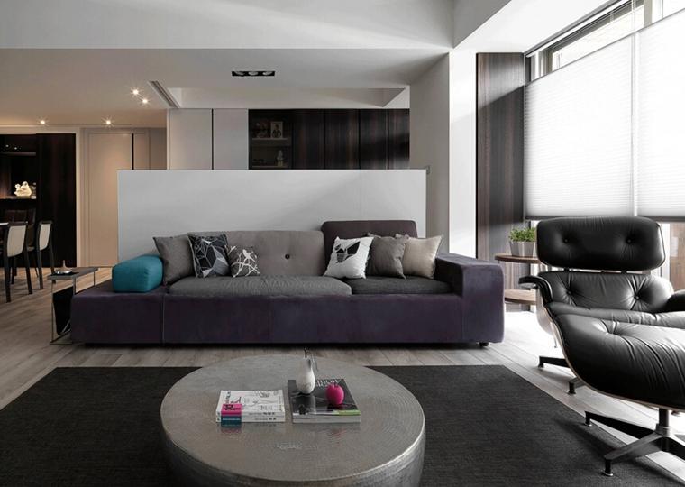 简约风格大户型装修客厅效果图