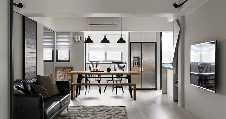 舒适三居室装修客厅效果图