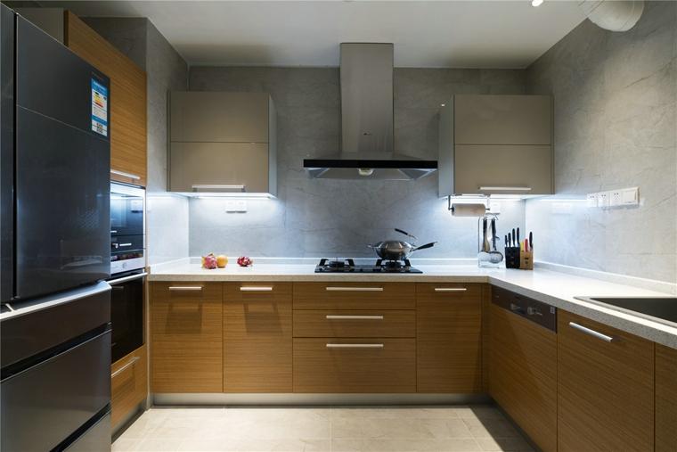 简约风格三居室厨房效果图