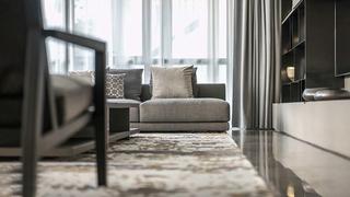 大户型样板间装修客厅地毯