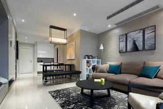 88平的幸福空间客厅地毯