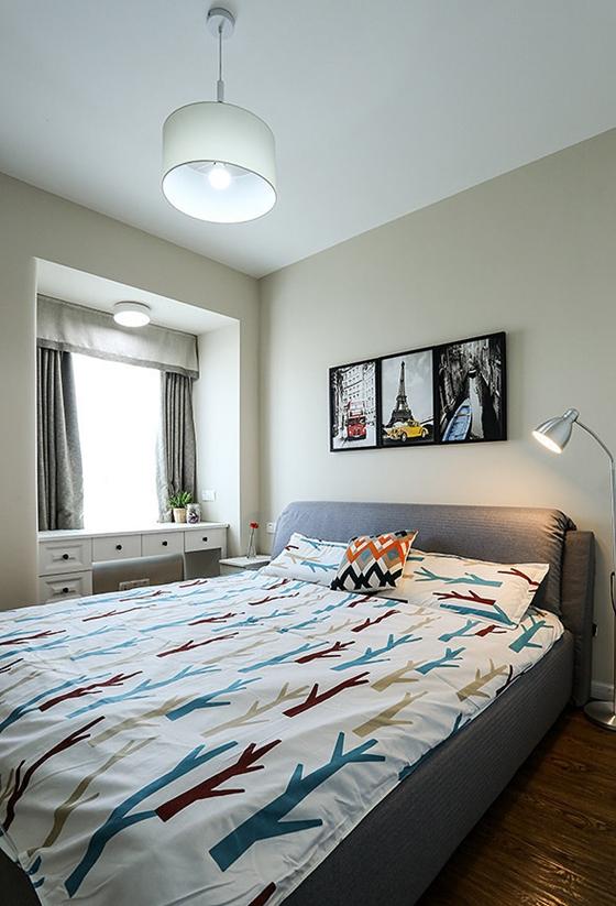 60平小户型装修卧室效果图