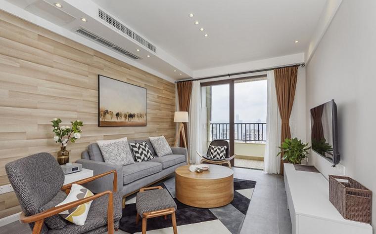 80平北欧风格装修小客厅装潢图