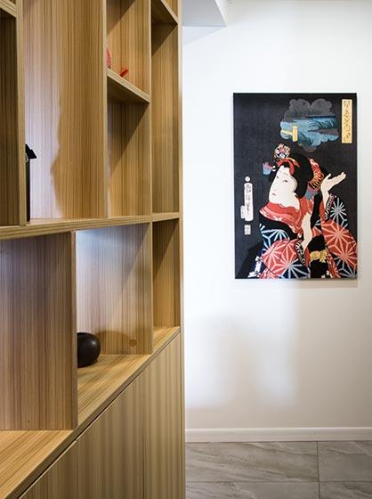 73㎡日式家装过道欣赏图