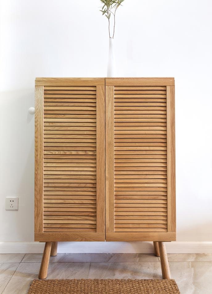 73㎡日式家装设计装饰柜摆放图