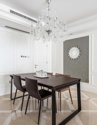 130平简约风格三居室餐厅效果图