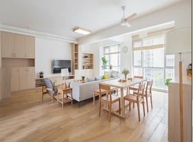 日式风格三居室装修 满目清新惹人爱