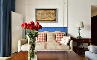 10万半包三居室客厅布艺沙发