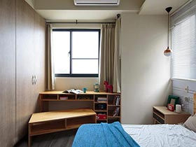 卧室德才兼备  10款卧室书桌实景图