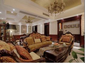 大老板的家  浓墨重彩的欧式风格装修