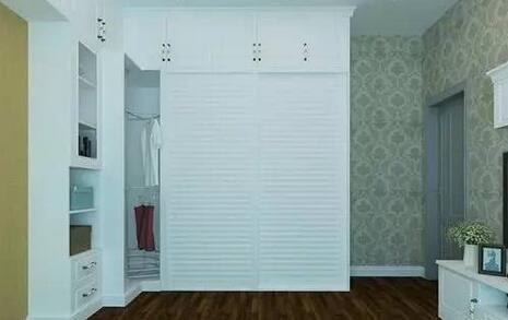 l型衣柜效果图 收纳强大的转角衣柜