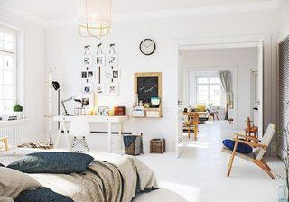 小户型复式装修卧室欣赏图