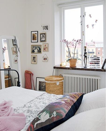 北欧风卧室构造图