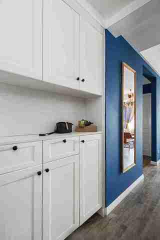 85平宜家风格装修厨房效果图