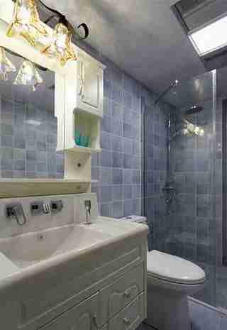 20万搞定三居室装修卫生间图片