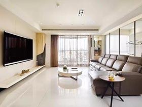 每一天都新鲜  10款简约客厅装修设计图