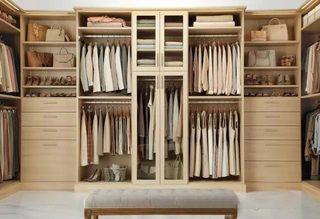 收纳型家具衣柜设计平面图