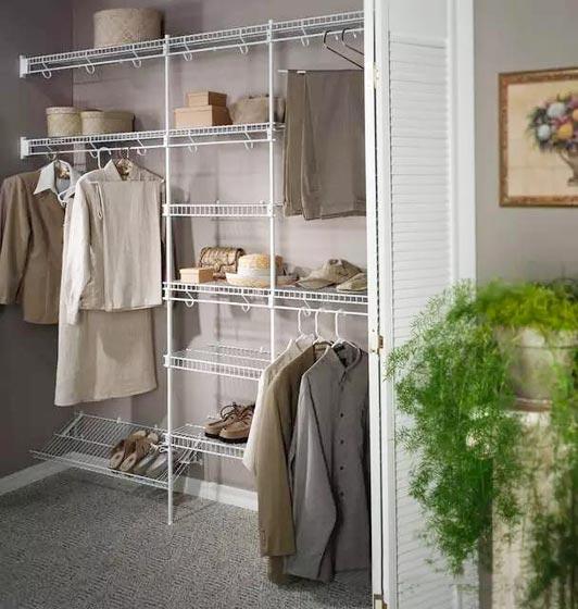 收纳型家具衣柜设计欣赏图