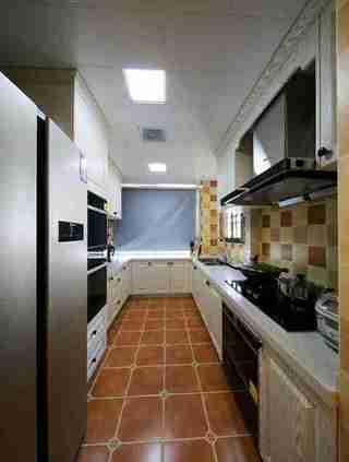 100平两居室装修厨房效果图