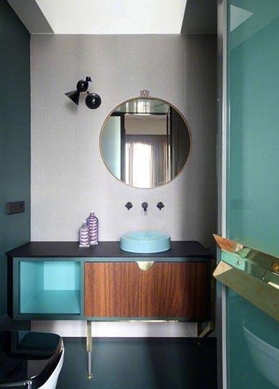 卫生间台盆柜装修图片