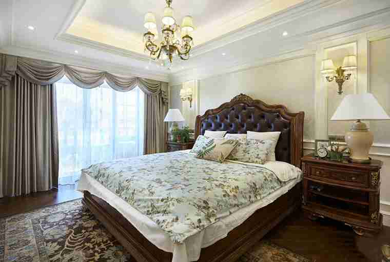联排别墅装修卧室效果图