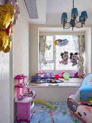 美式风格四房装修儿童房效果图