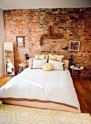 复古卧室装修装饰效果图
