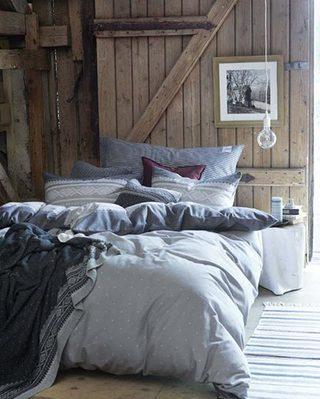 美式复古卧室装修构造图