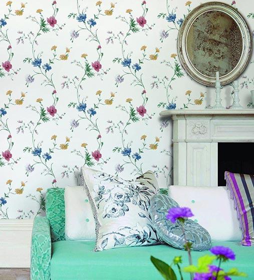家装壁纸墙设计装饰图