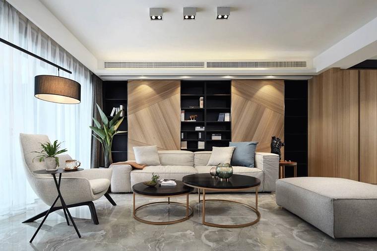 超酷复式房装修客厅效果图
