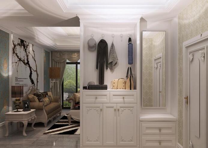 进门客厅玄关隔断图片 让你眼前一亮的玄关隔断