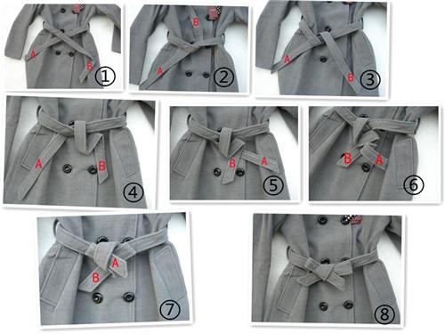 蝴蝶结的打法图解 三种类型蝴蝶结绑法