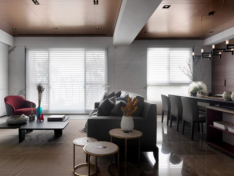 大户型装修客厅沙发图片