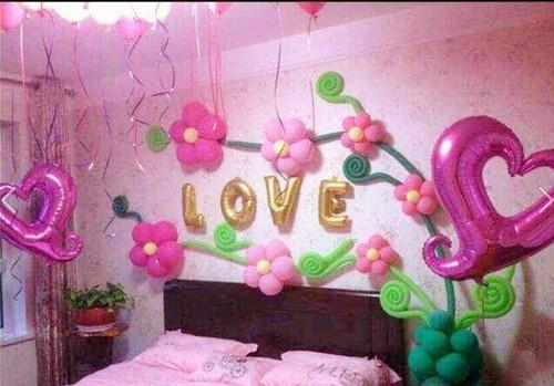 婚房气球装饰攻略 这样装饰让婚房浪漫无比