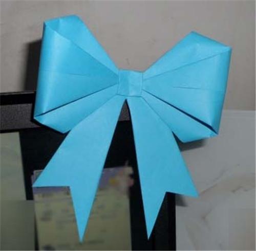 蝴蝶结的折法图解 蝴蝶结有什么寓意