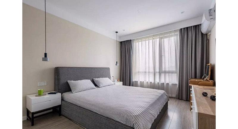 110平米欧式三居室装修效果图,北欧风格装修案例效果图片