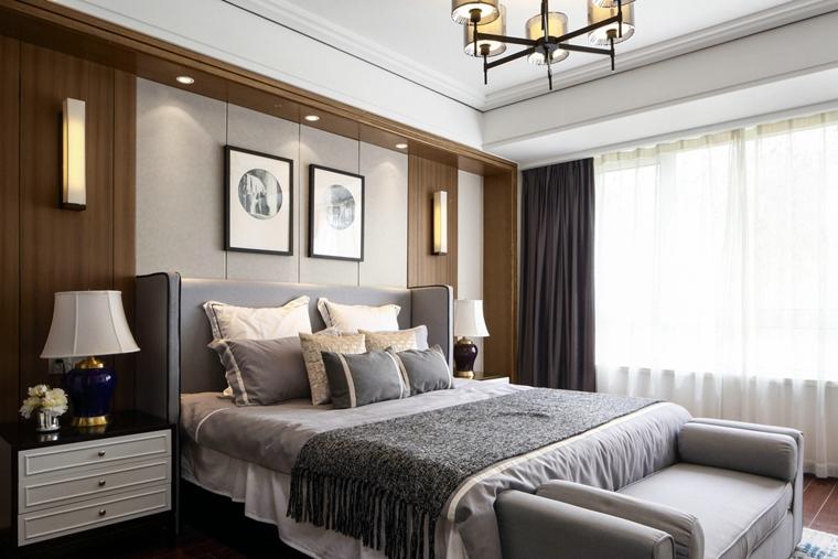 不一样的中式风格装修卧室装修图