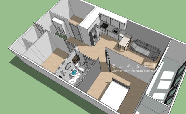 今天想要介绍的是面积为86㎡的三室一厅的老房子作为婚房翻新装修得