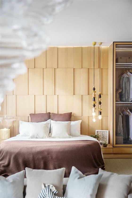 48平的超棒小户型卧室背景墙图片
