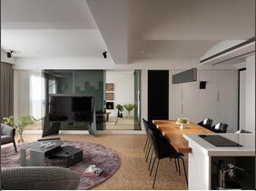 这是一套能让人心静的三居室装修