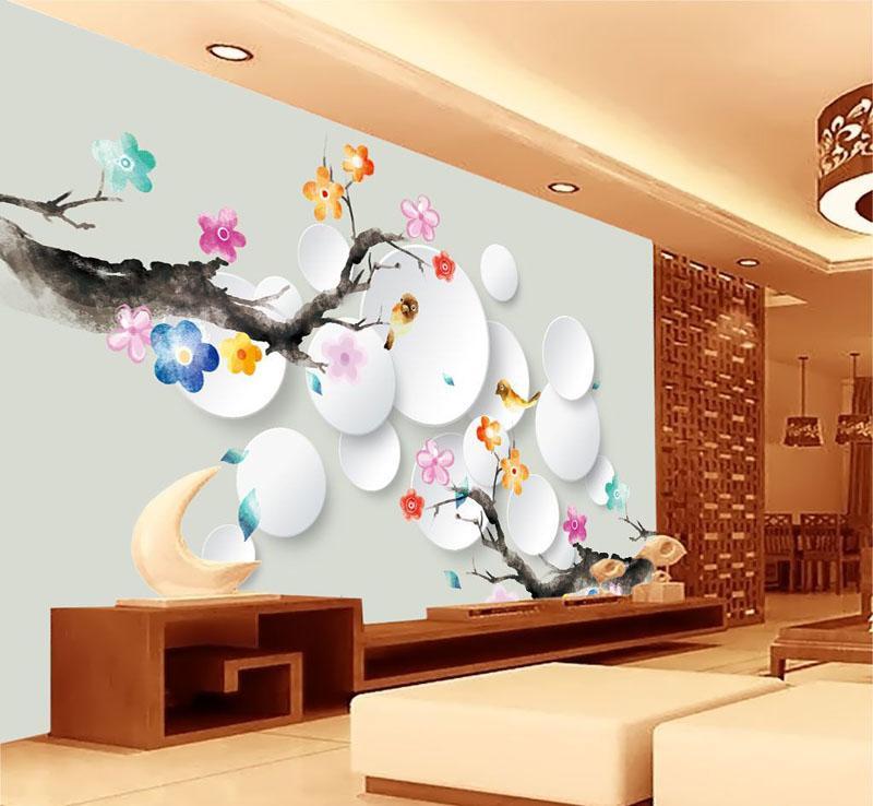 室内墙绘设计 艺术与家居的完美结合