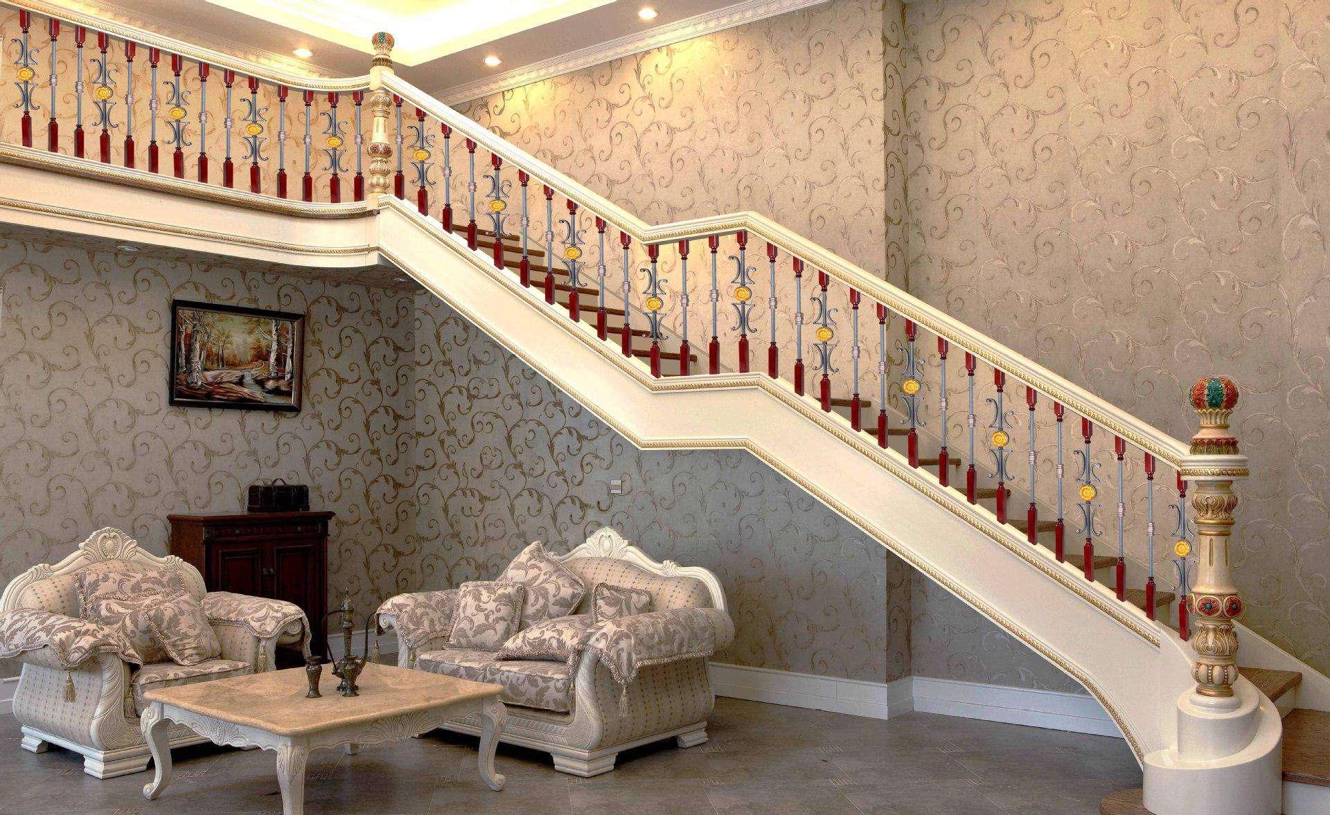 复式楼梯设计效果 四大风格各有特色
