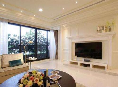 落地窗的设计,这也是目前家装中备受欢迎的一种,这样可以使客厅更加的