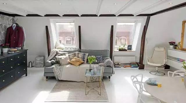 超级美的阁楼装修,给你更明亮的室内生活!