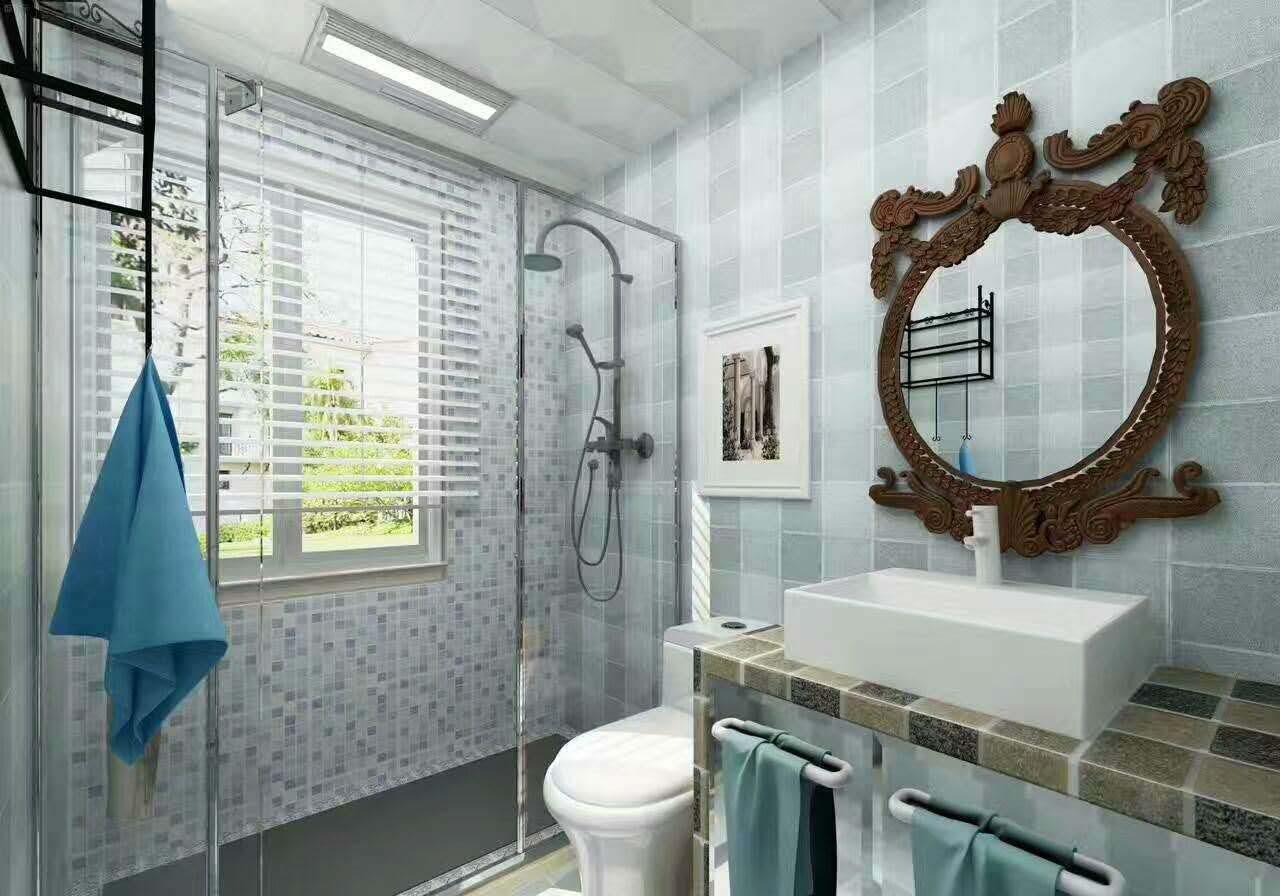 卫生间地砖_卫生间先铺地砖还是墙砖?