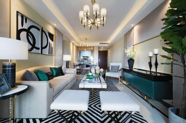 130平现代轻奢美式住宅,有了这样的房子你就是人生赢家图片